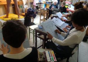 Atelier croquis à partir de MODÈLE VIVANT @ Atelier des épinettes