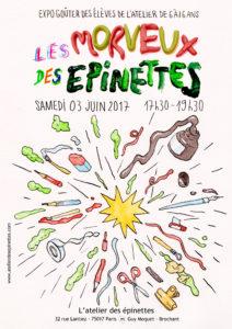 LES MORVEUX DES ÉPINETTES @ l'Atelier des épinettes (ADE)