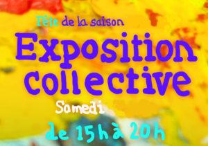 Exposition dessin, peinture, pastel, aquarelle, modelage... FÊTE DE LA SAISON 2018/2019 @ l'Atelier des épinettes (ADE)