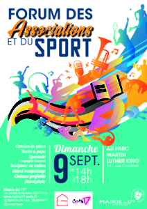 FORUM DES ASSOCIATIONS ET DU SPORT - Paris 17e