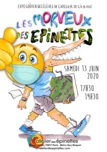 Expo-goûter LES MORVEUX DES ÉPINETTES @ l'Atelier des épinettes (ADE)