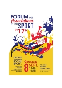 FORUM DES ASSOCIATIONS ET DU SPORT - Paris 17e @ Parc Martin Luther King
