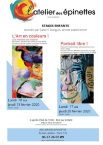 Stage enfants L'Art en couleurs