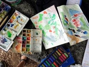 Peindre en plein air le 13, 20 et 22 juillet 2021